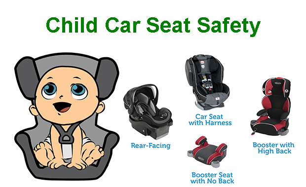 Child Car Seats - The Law As It Stands in Ireland