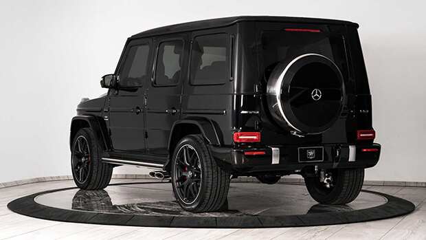 Bulletproof Mercedes AMG G63 by Inkas 4