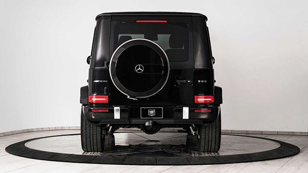 Bulletproof Mercedes AMG G63 by Inkas 5