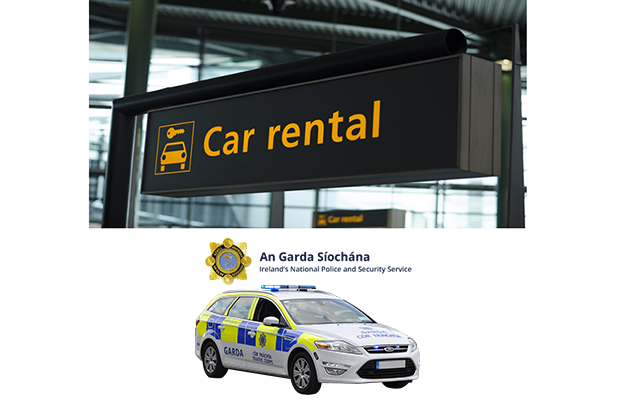 Gardaí are now renting cars like tourists