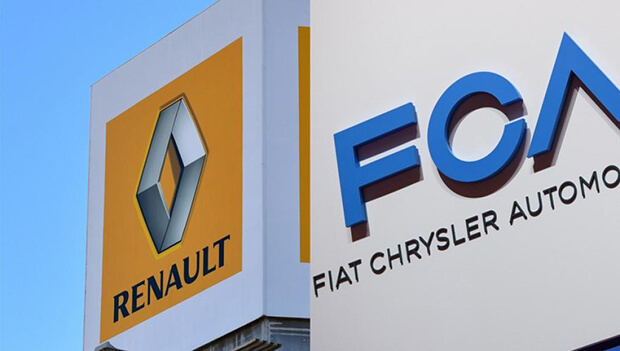Fiat Chrysler to merge with Renault