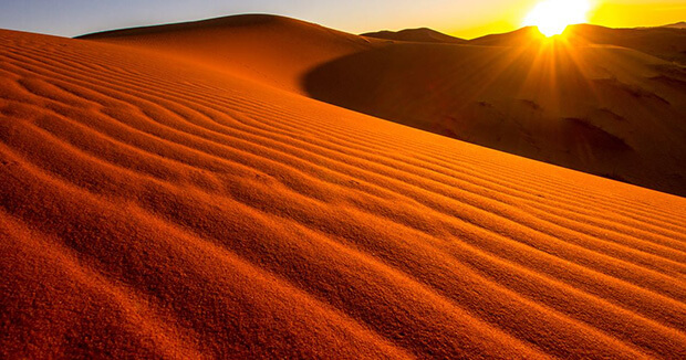 Saharan sand. Why your car is covered in red dust?