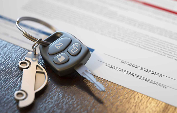 Documents when buying a used vehicle