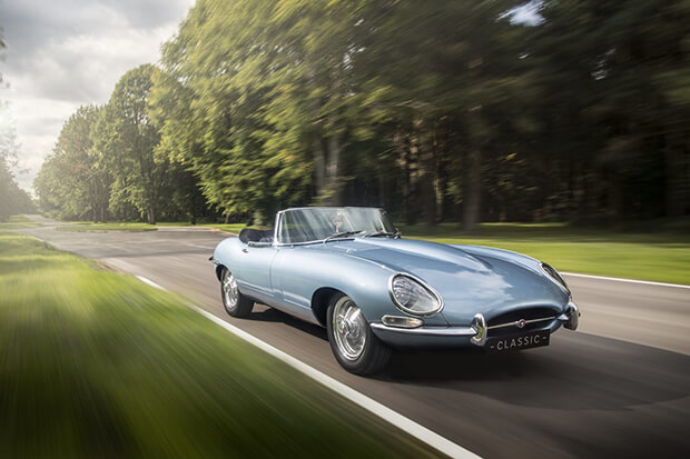 Jaguar E-Type Electric to be built in Ireland