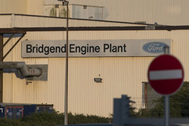 Bridgend Ford plant set to close with the loss of 1,500 jobs