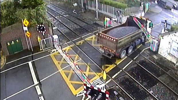 Irish Rail releases video of level crossing near-misses