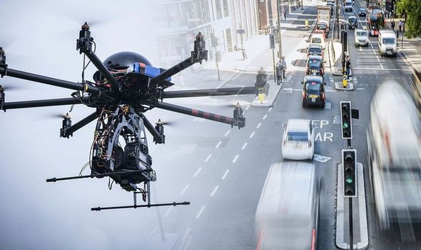 London police to use drones to catch speeding motorists