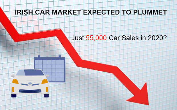 IRISH CAR MARKET EXPECTED TO PLUMMET TO JUST 55,000 NEXT YEAR