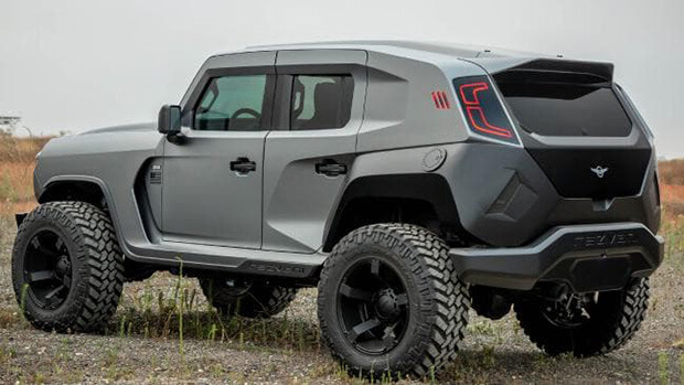 The worlds most extreme SUV