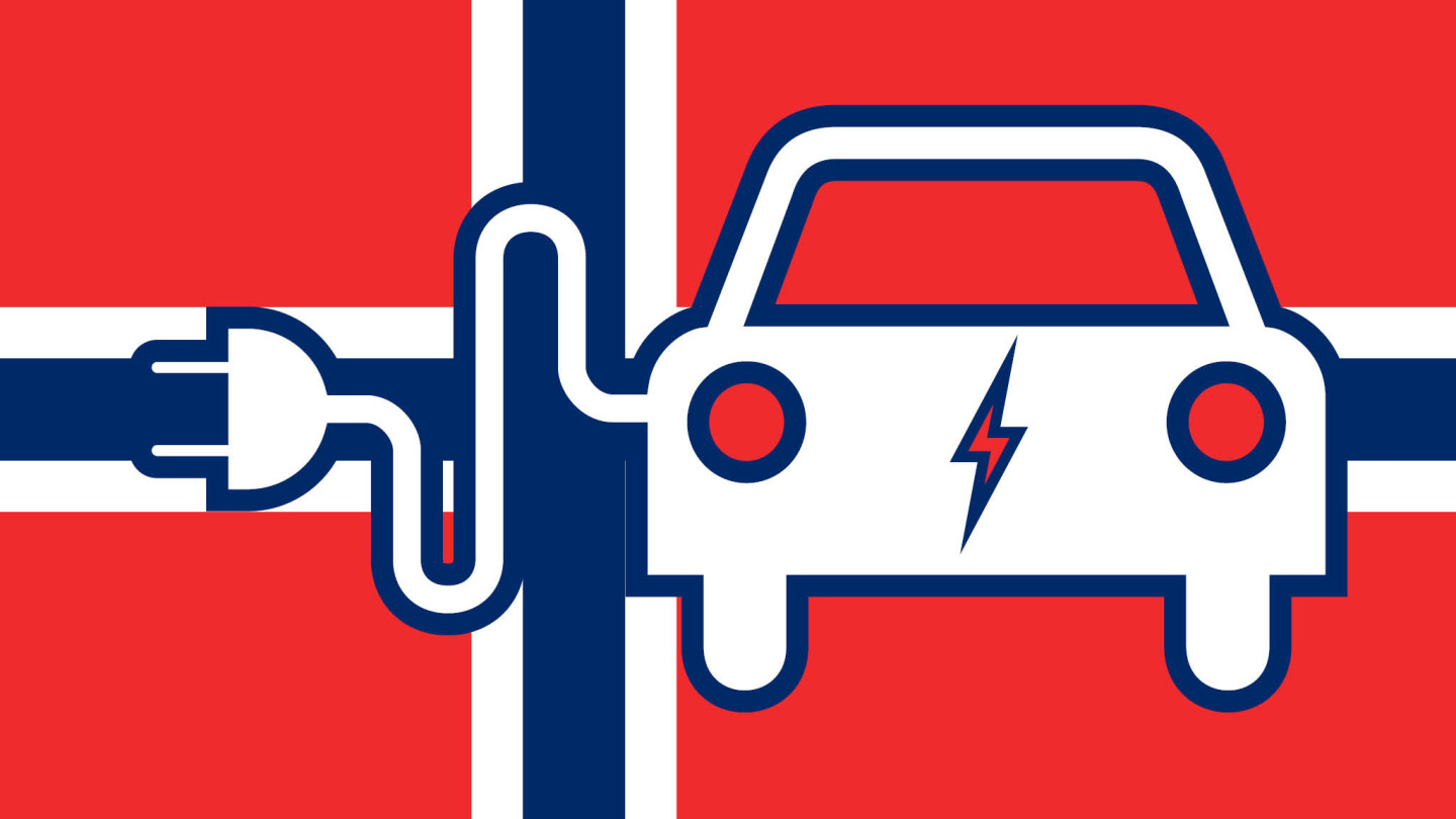 Norway's electric vehicle market led by the rich