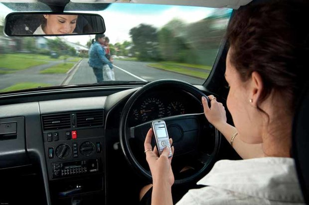 Driver distractions - mobile phones