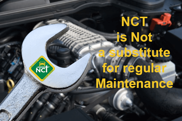The annual NCT test does not guarantee car safety all year round
