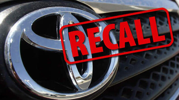 Toyota recall almost 12,000 Irish cars of potentially fatal fault