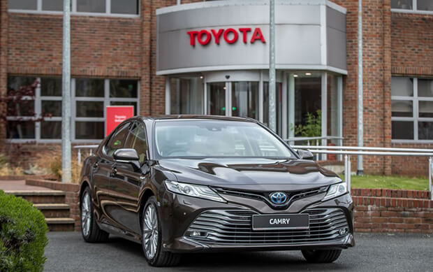 The Toyota Camry Hybrid