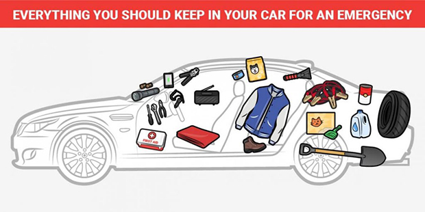 10 Things you should always have in your car