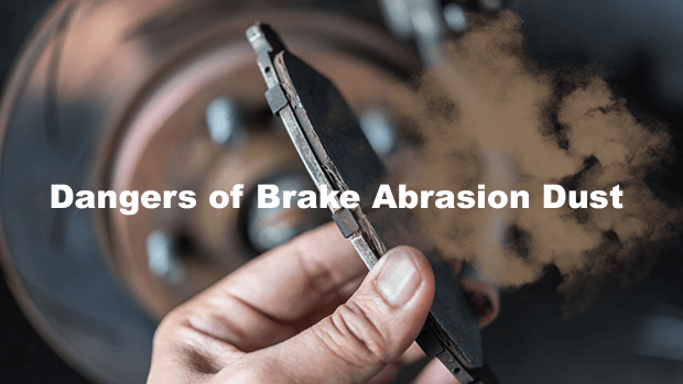 Brake abrasion dust from worn out brake pads may be as bad as diesel exhaust fumes?