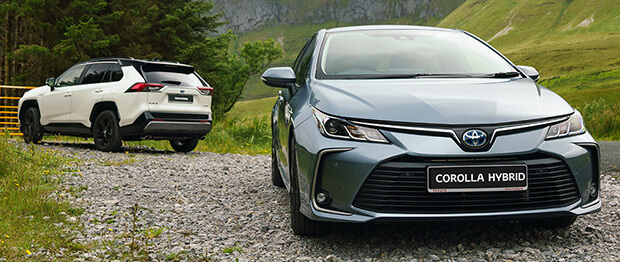 Differences between Toyota full-hybrid and mild-hybrid cars