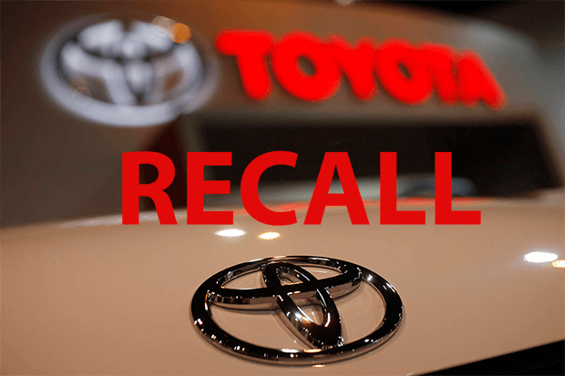 Toyota recalls 3.4 million vehicles for dangerously defective airbags