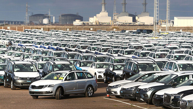 UK car sales plummeted last year to their lowest level since 2013