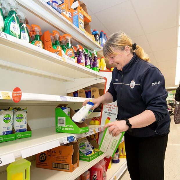 Frontline shop worker Coronavirus Ireland