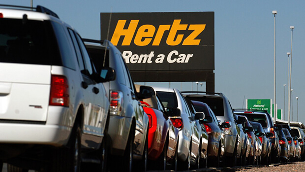 Hertz declares bankruptcy in US and Canada