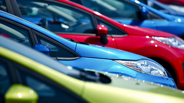 New car sales increased during May