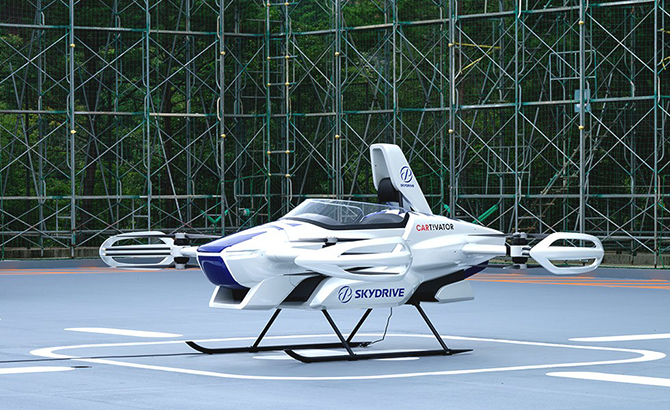 SkyDrive Flying Car