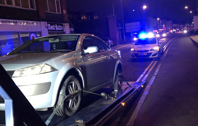 Brand new car seized by British cops 30 seconds after driving out of the showroom